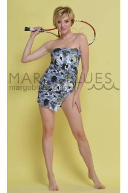 Пляжная юбка NK15 из эластичной ткани