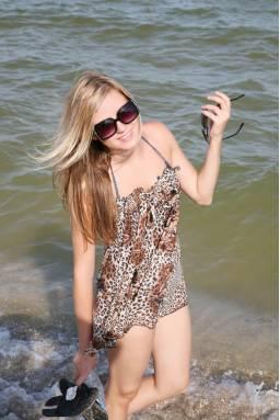 Пляжный сарафан  N99-1
