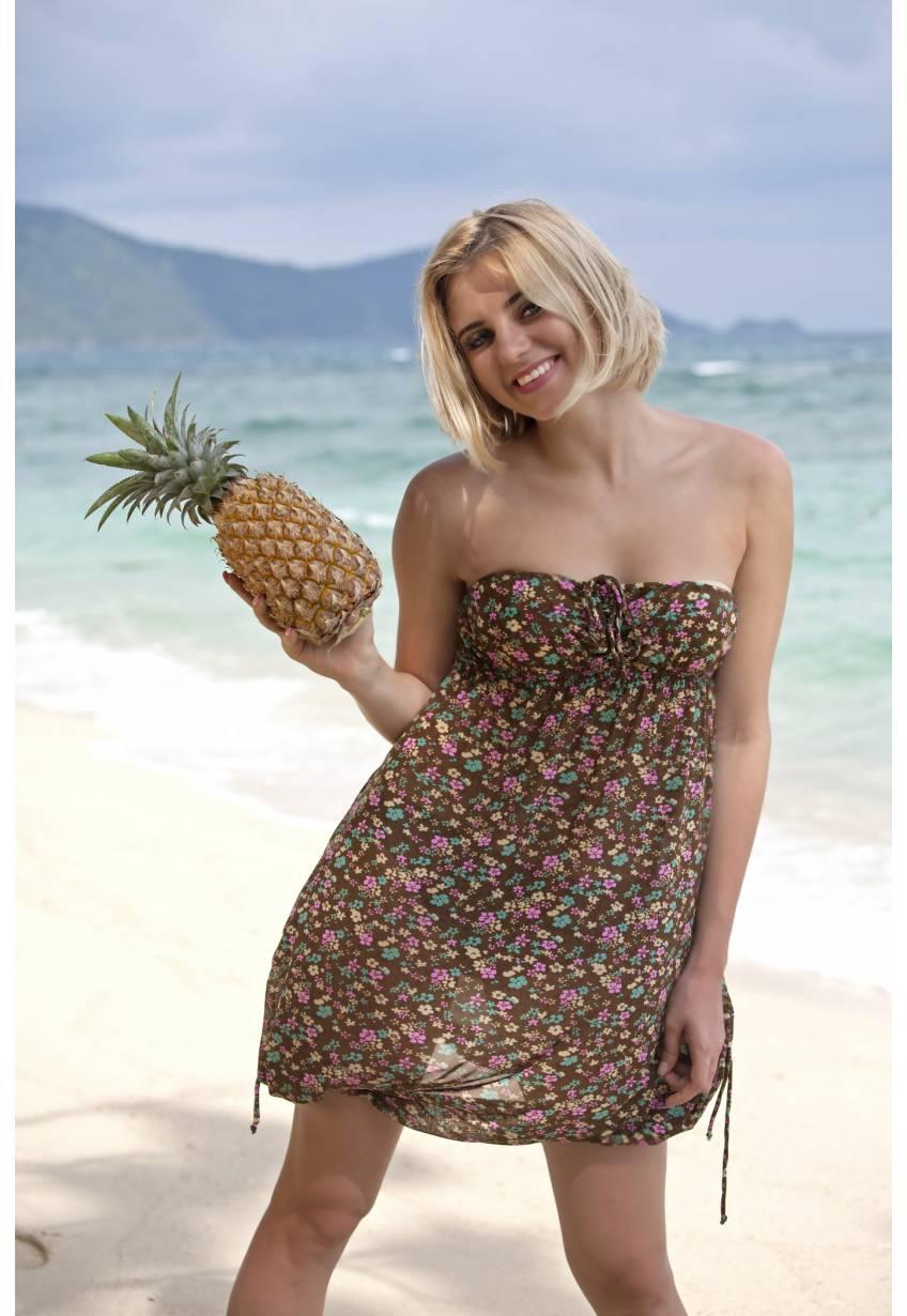 Пляжный сарафан N99 приятная ткань