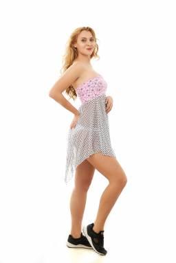 Пляжная юбка N127 из легкой ткани