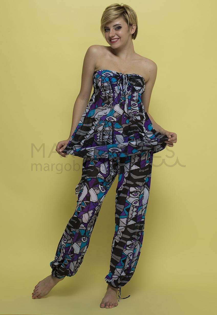 Сарафан и пляжные штаны М99 и N126 комлект