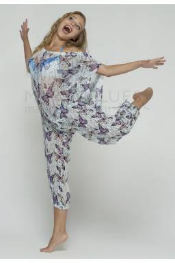 Пляжные штаны N128B сетка