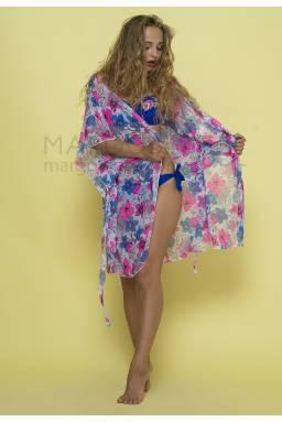 Пляжный халат N98 нежные цвета